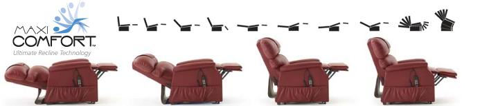 Lift chair recliners can lay flat for a comfortable rest
