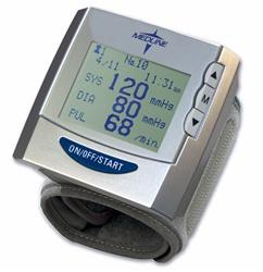 Medline Premium Wrist Blood Pressure Monitors Mds2006
