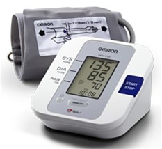 Omron Automatic Blood Pressure Monitor With Large Cuff Hem