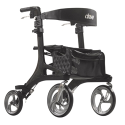 Drive Nitro Carbon Fiber Rollator Rollator Side To Side